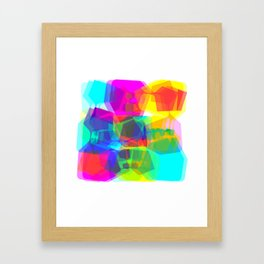 Techno dudes Sleep Framed Art Print