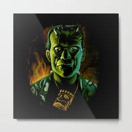 Party Monster Metal Print