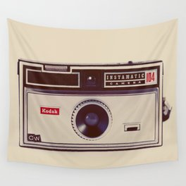 Instamatic Wall Tapestry