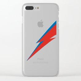 Rebel Rebel Clear iPhone Case