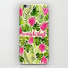 Tropical Wanderlust – Pink & Lime iPhone & iPod Skin