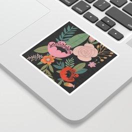 Floral Guache Sticker