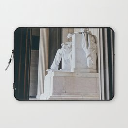 On His Marble Throne Laptop Sleeve