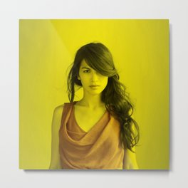 Elodie Yung - Celebrity (Photographic Art) Metal Print
