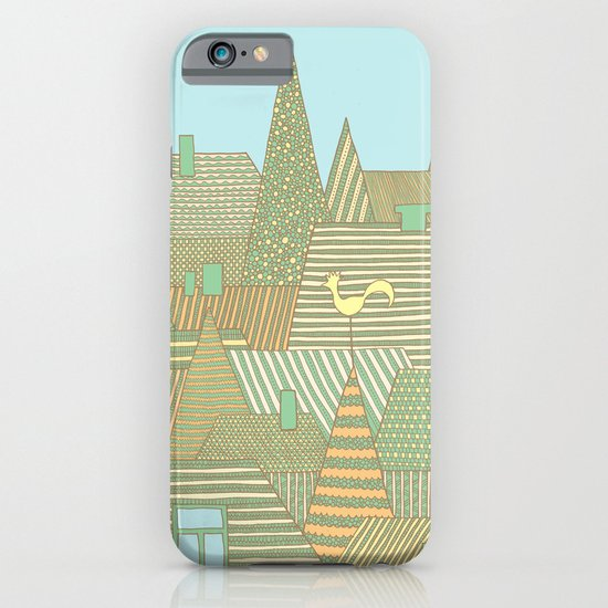 Rooftops iPhone & iPod Case
