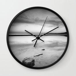 """""""Serenity sea..."""". Tarifa beach Wall Clock"""