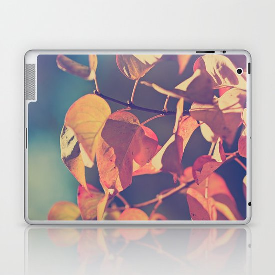 Color of the Leaves Laptop & iPad Skin