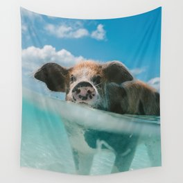 That piggy life Wall Tapestry