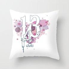 143 Throw Pillow