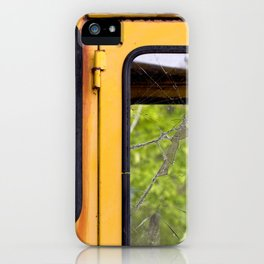Junkyard School Bus iPhone Case