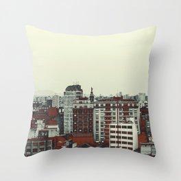 Sao Paulo Skyline I Throw Pillow