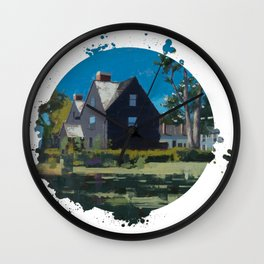 House of Seven Gables - Kevin Kusiolek Wall Clock