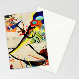 The Bird by Wassily Kandinsky Stationery Cards