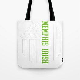 Memphis Irish prints by Howdy Swag graphic Tote Bag