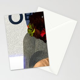 Fly: O is for Care less Stationery Cards