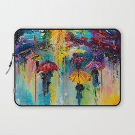 RAIN FALL DOWN Laptop Sleeve
