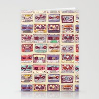 records Stationery Cards featuring Nobody's records by kubizm