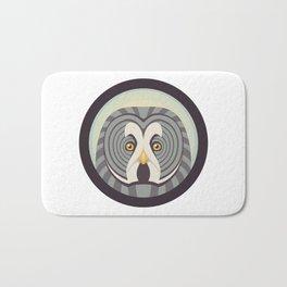 Great Gray Owl Bath Mat