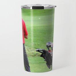 The golfer Travel Mug