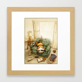 There's Nothing to Do... Framed Art Print
