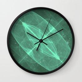 Green Galaxy of Sir Douglas Fresh [Torus of Love Version] Wall Clock