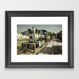 Havana Steamer Framed Art Print