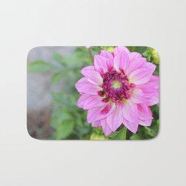 Marquette Pink Flower Bath Mat