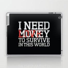 Money & Love Laptop & iPad Skin
