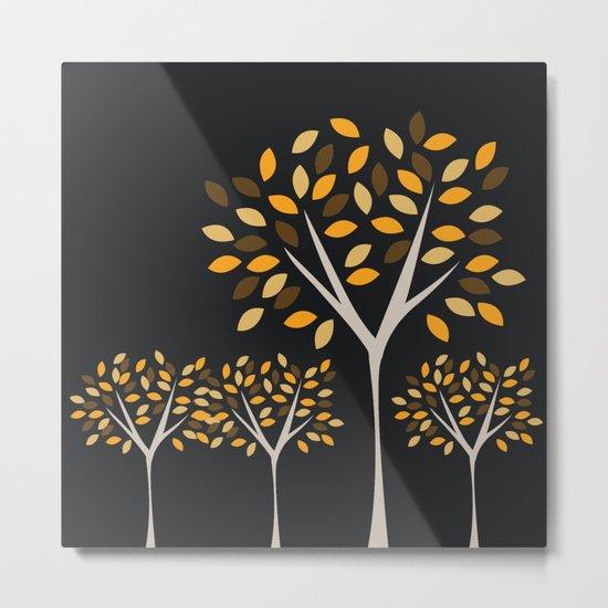 Autumn Trees 2 Metal Print