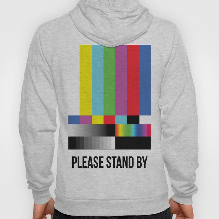 Color Bars Hoody