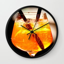 Cheers! Cocktail Drink #decor #society6 Wall Clock