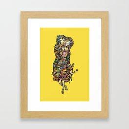 Der kuss Framed Art Print