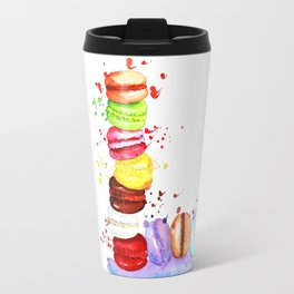 French Macarons Travel Mug