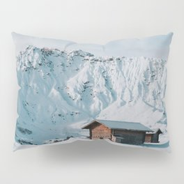 Hello Winter - Landscape and Nature Photography Pillow Sham