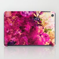 climbing iPad Cases featuring climbing  roses by clemm