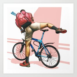Hot Ride Art Print