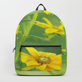 Summer Time With Yellow Daisies Backpack