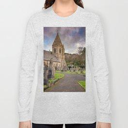 Church at Pantasaph Long Sleeve T-shirt
