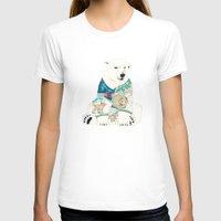polar bear T-shirts featuring Polar Bear by Yuliya