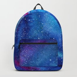 Galaxy || watercolor Backpack