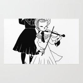 Violin players Rug