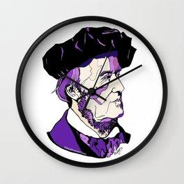 Composer Richard Wagner Wall Clock