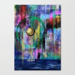 Cascade of Memories Canvas Print
