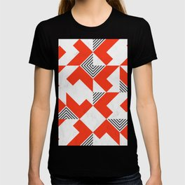 Marble Red Blocks T-shirt