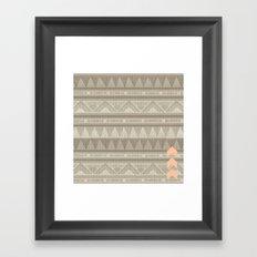 There is no desert Framed Art Print
