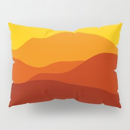Mountains at Sunset  #society6 #decor #buyart #artprint Pillow Sham
