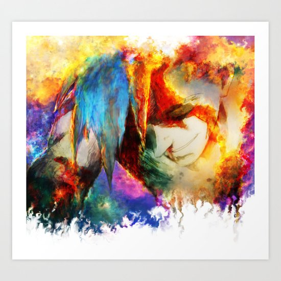 Kamina Art Print