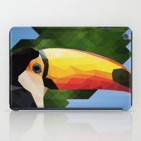toucan iPad Cases featuring toucan by gazonula
