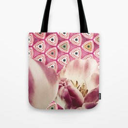 chiang candies & tulips Tote Bag