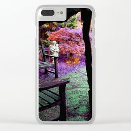 Enchanted Garden Clear iPhone Case